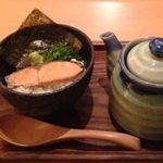 ゆるり家 - お茶漬け(鮭)、出汁の香り炸裂!運ばれる香りで周りのお客様も頼んでしまうお茶漬けです♪