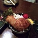 Okonomiyakiteppanyakibanchou - アジフライ