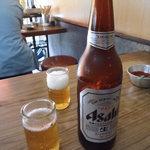 きらく - 大瓶ビール550円