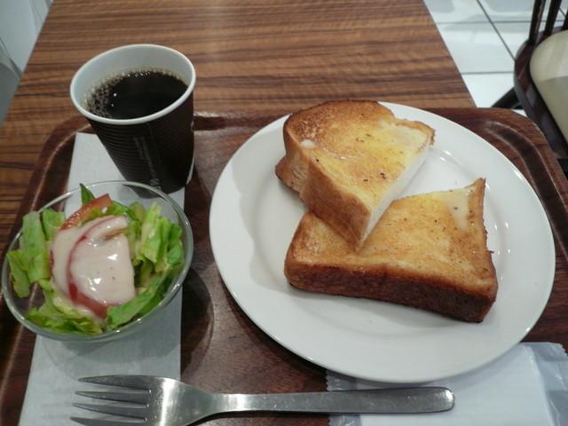ドリップマニア 横浜リフレスタ店 - モーニング420円