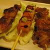 備長家 - 料理写真:ボンジリ、ササミのわさび、鶏皮