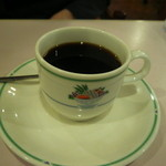 レストランヴェルデ - 牛丼セットのコーヒー