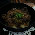 レストランヴェルデ - 米沢牛丼