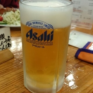 栂池山荘 - ドリンク写真:生ビール