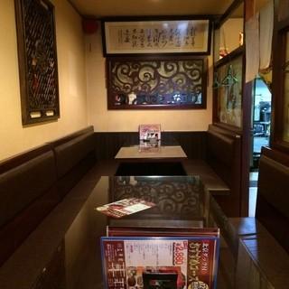 個室空間あり!カスタマイズ可能なテーブル席あり♪
