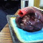 3073673 - 鮫の心臓もいただきましたが意外とあっさりでした