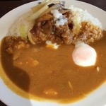 CoCo壱番屋 - 牛カルビ焼肉カレー 半熟タマゴ