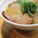 ラーメン巌哲 - 肉塩 のチャーシュー (2014/09)