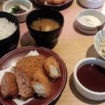 tonkatsuke-waike- - MIXカツ膳