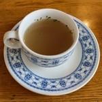 鳩家 - ランチのスープ