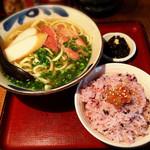 ニライカナイ - 沖縄そばセット800円