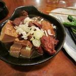 もつ焼き 駒鳥 - (2014/09/07)牛すじ肉豆腐