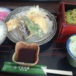 そば天国 松乃家 - えび天ぷら膳850円