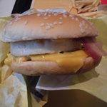 マクドナルド - 月見チーズバーガーセット629円