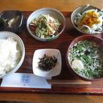 日常茶飯 - 本日の一汁三菜