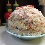 暁 - 2014年9月16日 デコレーション炒飯で49歳を祝った。