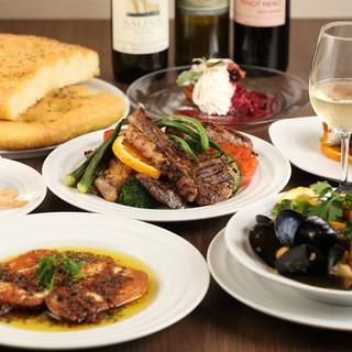 本場で修業したシェフによる本格南イタリア料理が味わえる!