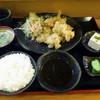 天麩羅茶屋ぎょう天 - 料理写真:「とり天定食」530円