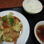 昇龍軒 - 回鍋肉ごはん
