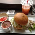 ボイドコーヒー - チキンハンバーガー ランチ