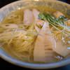 Senshibankou - 料理写真:鶏そば 一番搾り 塩
