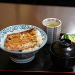 川勢 - ランチうな丼1200円