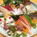 四季の味処 太 - 刺し盛り❗️このお店は魚が旨いです( ^ ^ )/■