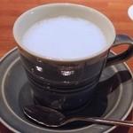 月光茶房 - ホットミルク