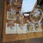カフェ トモチート - 店内にはクッキーも売られていました。