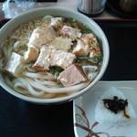 さぬき麺児 - かけ大&豆腐おでん(乗せてみました^^;)