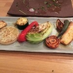 ハルダイニング - 野菜の鉄板焼き
