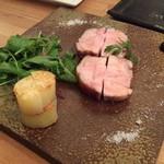 ハルダイニング - 豚肉の鉄板焼き