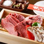 やみつきRED - 料理写真:看板メニュー「本日の赤肉盛り」
