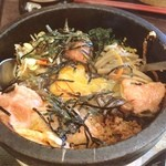 水琴茶堂 - 明太子石焼ビビンバ