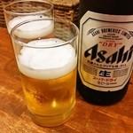 山中房 - 瓶ビール 550円
