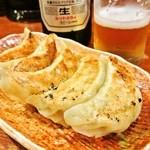 山中房 - 餃子 350円
