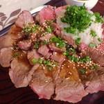 30756906 - Gang☆ステーキ丼(ハーフ&ハーフ)ノーマル [\1750]