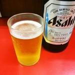 龍王 - 瓶ビール 500円