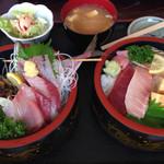 お食事処 名代亭 - おらが丼1500円