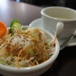 アジアンダイニング AAGAN - 白いスープおいしかった