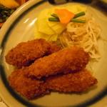欧風料理 もん - とんかつ定食1800円♪(へレ)