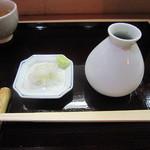 又八郎 - 料理写真:薬味・つゆ