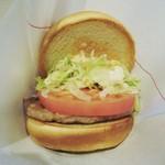 30766868 - 野菜バーガー!!(*^ー^)ノ♪