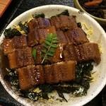 30769256 - 煮穴子丼(ご飯大盛り)