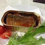 盗作料理 郷 - H.25.12.1.夜 サーディントマトソース漬け ラトビア産の缶詰