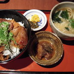 志な乃亭 - 豚丼セット