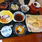 寿し味処 和多栄 - 天ぷら定食1180円