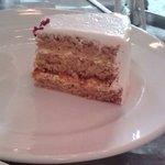 ビーガン ヒーリングカフェ - 豆乳ホイップケーキ