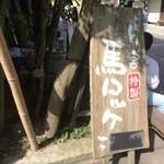阿蘇 とり宮 - 看板