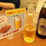 30770248 - ビンビール(アサヒスーパードライ中)(510円)